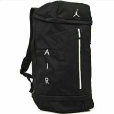 Nike Air Jordan Velocity Large Basketball Backpack Duffel Bag - Black White