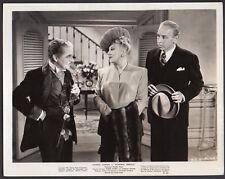MONSIEUR VERDOUX Charles Chaplin & Isobel Elsom 1947 VINT ORIG PHOTO movie still