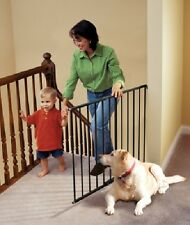 Kidco Safeway Stairway Baby Safety Gate, Hardware Mounted, G2001 Black