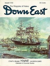 DOWN EAST Maine mag. AUG 1965 CONWAY HOUSE in CAMDEN  Ellsworth Stanwood Museum
