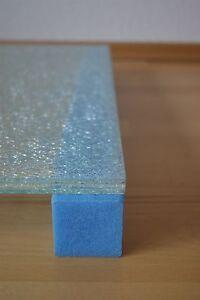 (1,62€/m) 1 Karton/154lfm Blockprofil Schaumprofil Kantenschutz Eckenschutz Glas