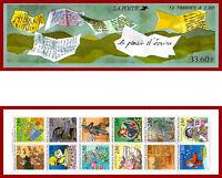 France carnet 1993 Le plaisir d'écrire ** MNH, BC2848, NON-PLIÉ