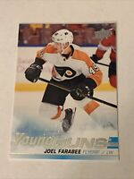 2019-20 Upper Deck Young Guns #491 Joel Farabee YG RC