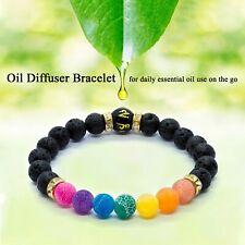 7 Chakra Anxiety Bracelet Crystal Healing Stones Jewellery Beads Natural