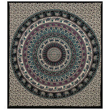 Cotton Mandala Tapestries Indian Throw Bedding Queen Wall Hangings Home Blanket