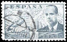 Scott # C115 - 1941 - ' Juan de la Cierva & his Autogiro over Madrid '
