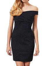 Women's Sleeveless Spotted Short/Mini Stretch, Bodycon Dresses