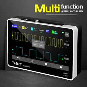 "FNIRSI 1013D Handheld Tablet Oscilloscope 2CH 100MHz Bandwidth 7"" Touch Panel 1G"
