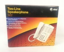 New At&T Two-line Speakerphone 922 Vintage 1998 Cord Office Phone.Telephone