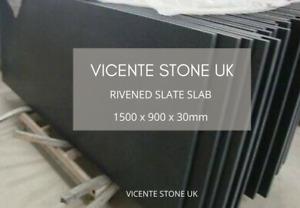 Rivened Slate Slab | Hearth | Table | Paving |  1500 x 900 x 30mm