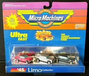 Micro Machines Limo Collection #45 - Galoob (1986 / 1987 / 1988)