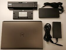 """Dell Precision M4800 15.6"""" Core i7-4810MQ 2.8GHz 16GB 256GB SSD Win10 Pro + DOCK"""