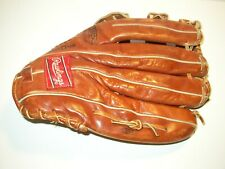 Rawlings Premium H 2500 Left Hand Throw Outfielders Glove Fastback Vintage
