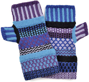 Solmates Fingerless Mitts Multicolor + Card Autographed to YOU by Mark Lindsay