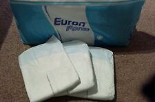 3 x Euron Form adult nappies with plastic backing in Medium Extra AB/DL Aware
