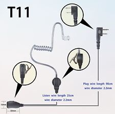 1-wire Surveillance Earpiece for Icom IC-F3001 IC-F4001  Portable radio