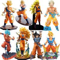 Anime Dragon Ball Z Son Goku Kids PVC Action Figure Gift Model Toys Collection