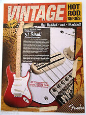 Affichette Fender stratocaster '57 Hot Rod series