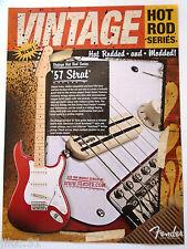 Affichette Fender stratocaster '57 Hot Rod series