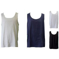 Mens Plain Basic Singlet Cotton Top T Shirt Gym Outdoor Sports Plus Size 3XL-6XL