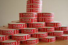 250 FRAGILE(1x3) Sticker Handle With Care Fragile Label/Sticker