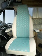 TALBOT EXPRESS MOTORHOME SEAT COVERS - EMERALD GREEN - 2 FRONTS