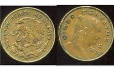 MEXIQUE 5 centavos 1961