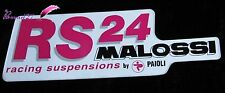 Ancien Autocollant RS24 MALOSSI Racing Suspensions by PAIOLI