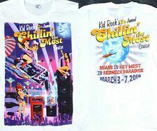 Kid Rock 5th Annual 2014 Chillin The Most Cruise Redneck Shirt Rare Mens Small