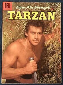 Tarzan #82  July 1956  Gordon Scott