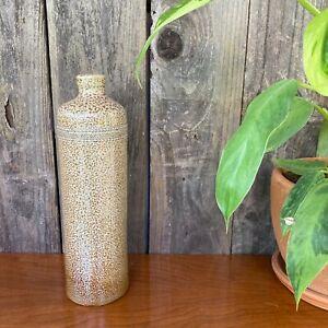 Vintage CAMPOS FILHOS AVEIRO PORTUGAL Pottery Stoneware Vase Brown