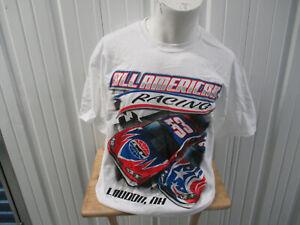 VINTAGE GILDAN NASCAR ALL AMERICAN RACING LONDON NEW HAMPSHIRE XL SHIRT 2010