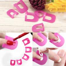 48 Cintas + 26 anti-derrame clip de modelo derrames plástico Para Protector Uñas