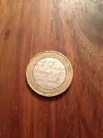 Rare Robert Burns 1759 - £2 Pound Coin  - 2009 - Two Pounds