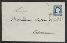 L3167 CHILE POSTAL STATIONERY 5 C COVER SANTIAGO TO VALPARAISO 1901