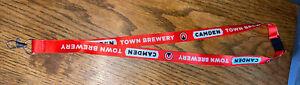 Camden Town Brewery Red Lanyard