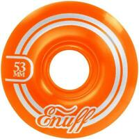 Enuff Refresher II 55D Orange Skateboard Wheels - 53mm