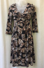 Table Eight Size 10 Dress Stretch 3/4 Sleeve Work Office Casual Evening Travel