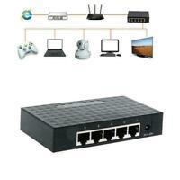 5 Port 10/100/1000Mbps Fast LAN Ethernet Network Adapter Desktop W L6C0
