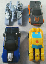 Transformers Mixed Loose Lot x 4 Figures - Megatron  Hot Rod  Bumblebee Dropkick