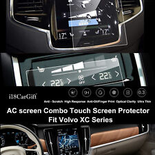 2017-2020 Volvo XC60 Tempered Glass Navigation & AC Touch Screens Protector