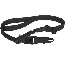 Pentagon Single Point Gun Lanyard Combat Army Sling Strap Shooting Support Black