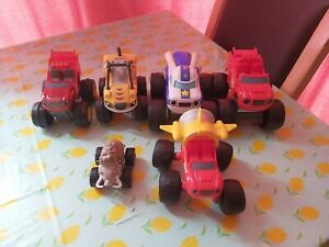 Blaze and The Monster Machines Bundle x6 some with sounds