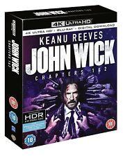 John Wick: Chapters 1 & 2 (4K Ultra HD + Blu-ray + Digital Download)