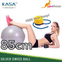Exercise Ball Anti Burst Gym Swiss Ball for Yoga Pilates Pregnancy Fitness 85cm