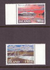 Iceland MNH 1993 Icelandic Bridges  set mint stamps