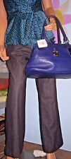 Dalia Collection~ Gray~ Wool~Back Pocket~ Fully Lined~Pants~SZ 10P! City Chic!