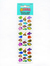 SEALED VINTAGE 1990s SANDYLION Prismatic Tropical Fish Collectible Stickers 1 Sh