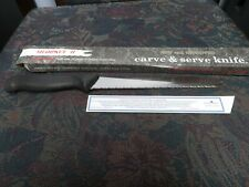 "Quikut Sharpkut II 8"" Inch Carve & Serve Knife - Stainless Steel USA"