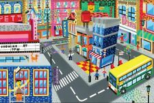 "Original LEGO Art City Modular Buildings Series 11""x17"" Poster"